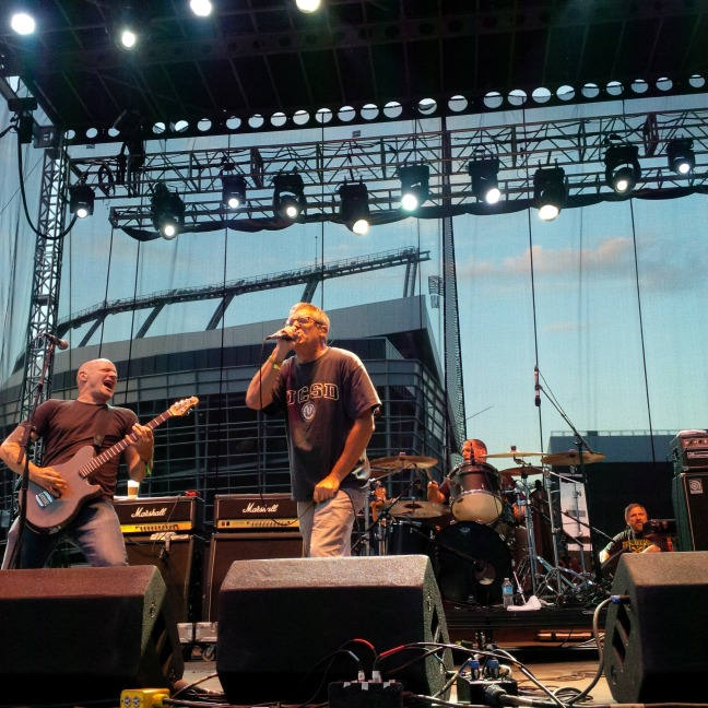 The Descendents at Riot Fest (photo by Adam Perry)