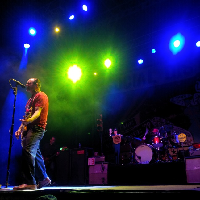 Mike Ness at Riot Fest (photo by Adam Perry)