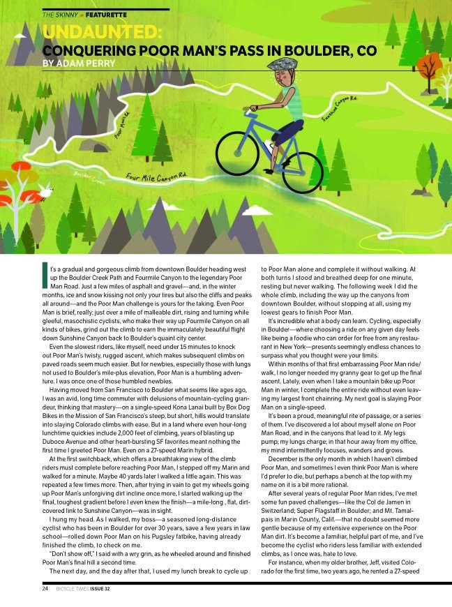 BicycleTimes Poor Man Article Nov 2014