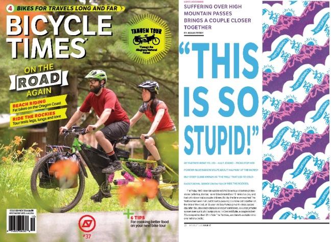 AP Ride the Rockies article BT Sep 2015